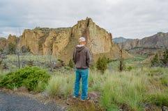 Het Park van de Staat van de Rots van Smith in Oregon Royalty-vrije Stock Fotografie