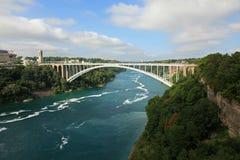 Het Park van de Staat van het Niagara Falls stock afbeeldingen