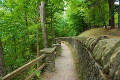 Het Park van de Staat van Letchworth, New York Stock Foto