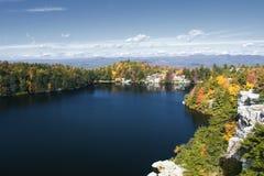 Het Park van de Staat van Minnewaska in de herfst royalty-vrije stock foto's
