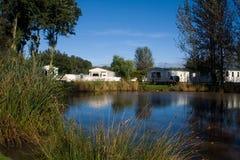 Het Park van de Vakantie van de caravan Royalty-vrije Stock Afbeeldingen