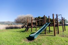 Het Park van de wildernisgymnastiek stock afbeeldingen