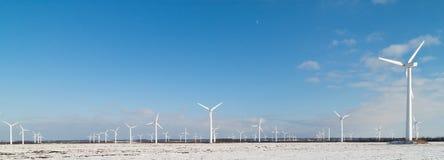 Het park van de windmolen Stock Afbeelding