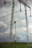 Het park van de windturbine Royalty-vrije Stock Afbeelding