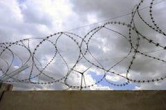 Het park van de windturbine Royalty-vrije Stock Foto's