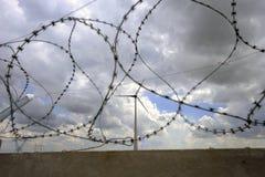 Het park van de windturbine Royalty-vrije Stock Foto