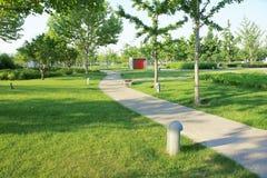 De zomerpark royalty-vrije stock foto