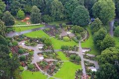 Het park van Dortmund Stock Fotografie