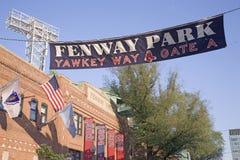 Het Park van Fenway   Royalty-vrije Stock Afbeelding