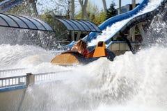 Het park van Funfair in Nederland. Stock Afbeeldingen