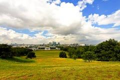 Het park van Greenwich Royalty-vrije Stock Foto's