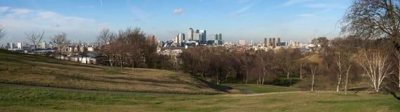 Het Park van Greenwich Stock Afbeelding