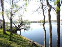 Het park van Herastrau royalty-vrije stock afbeeldingen