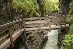 Het Park van het avontuur in Mendlingtal Royalty-vrije Stock Afbeelding