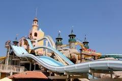 Het park van het de fantasiewater van Aqua Stock Afbeeldingen