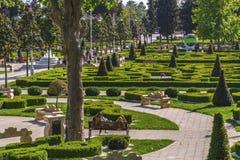 Het Park van het Goztepe 60ste Jaar, Istanboel Royalty-vrije Stock Foto's