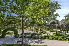 Het Park van het Goztepe 60ste Jaar, Istanboel Royalty-vrije Stock Afbeeldingen