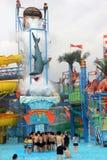 Het park van het Guangzhouwater Royalty-vrije Stock Foto