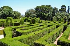 Het park van het Hortalabyrint Stock Afbeeldingen