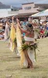 Het Park van het Kapa'astrand, Kapaa, Kauai, Hawaï - Augustus 1, 2010: Jong Stock Afbeeldingen