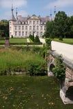 Het park van het kasteel Royalty-vrije Stock Foto's