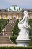 Het park van het paleis Stock Foto's