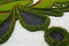 Het park van het paleis in hof, Oostenrijk Royalty-vrije Stock Fotografie