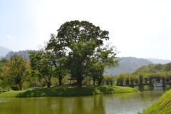 Het Park van het Taipingsmeer (Taman Tasik Taiping) Stock Afbeeldingen