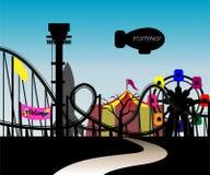 Het park van het thema Stock Afbeelding