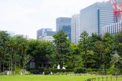 Het park van Hibiya in Tokyo, Japan stock foto's