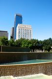 Het park van Houston Texas stock afbeeldingen