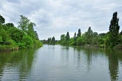 Het Park van Hyde, Londen, het Verenigd Koninkrijk Royalty-vrije Stock Afbeelding