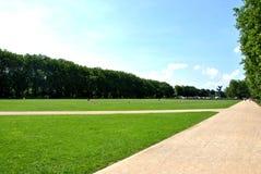 Het park van Jasneb?onia in Szczecin Royalty-vrije Stock Foto