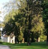 Het park van het kasteel royalty-vrije stock fotografie