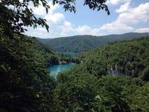 Het Park van Kroatië Plitivice Stock Afbeelding