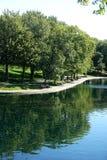 Het Park van La Fontaine Stock Afbeeldingen