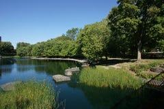 Het Park van La Fontaine Stock Fotografie