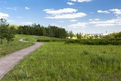 Het Park van Landshaftniy van Mitinskiy Royalty-vrije Stock Foto's
