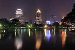 Het Park van Lumpini, Bangkok, Thailand. Stock Afbeeldingen