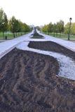 Het park van Moskou Stock Foto's