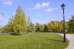 Het park van Moskou Royalty-vrije Stock Foto