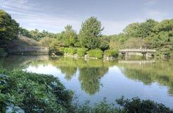 Het park van Nagoya - Meijo-, Japan stock foto's