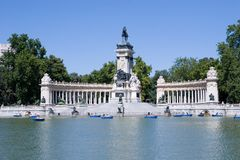 Het Park van Retiro Royalty-vrije Stock Foto