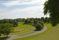 Het Park van Rheinaue in Bonn Stock Afbeelding