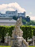 Het Park van Salzburg Stock Foto's