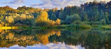 Het park van september Stock Foto