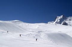 Het park van Snowboard. De Kaukasus. Royalty-vrije Stock Foto