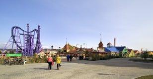 Het Park van Sotchi - themapark Stock Fotografie