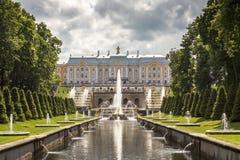 Het park van St. Petersburg Royalty-vrije Stock Foto