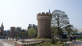 Het Park van Tokyo Disneyland royalty-vrije stock afbeeldingen